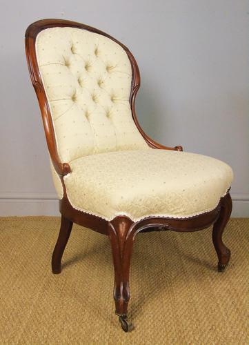 Smart  Victorian Nursing Chair (1 of 7)