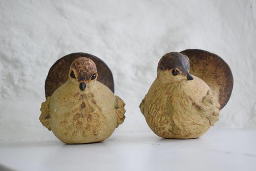 Pair of Mid Century Studio Pottery Bird Models (1 of 9)