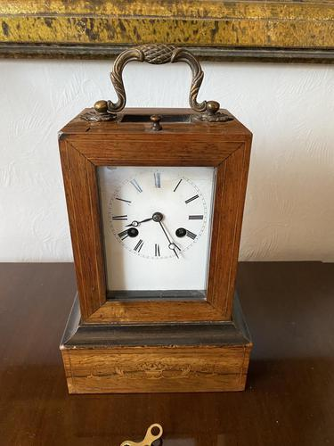 French Campaign Carriage Clock by Leroy A Paris c.1830 (1 of 5)