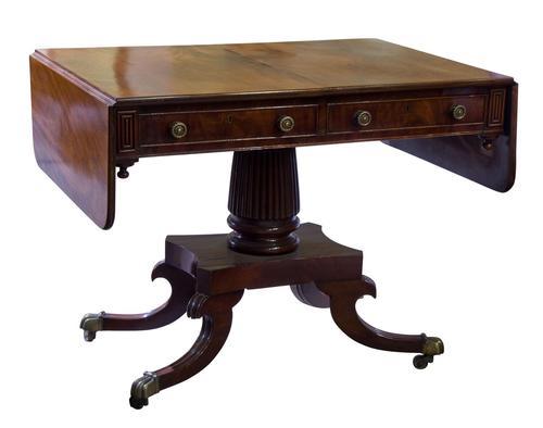 George IV Mahogany Sofa Table (1 of 9)