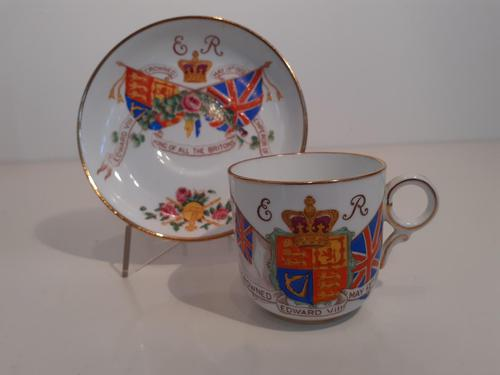 Coronation Cup and Saucer,  Edward VIII, 1937 (1 of 2)