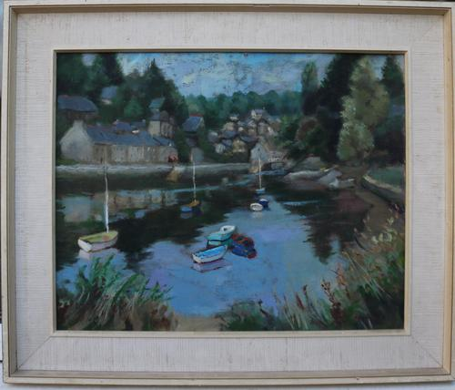 Boats on the river by Prue Sapp (1 of 7)