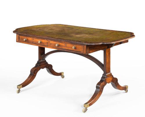 Unusual Regency Period Library Table (1 of 4)