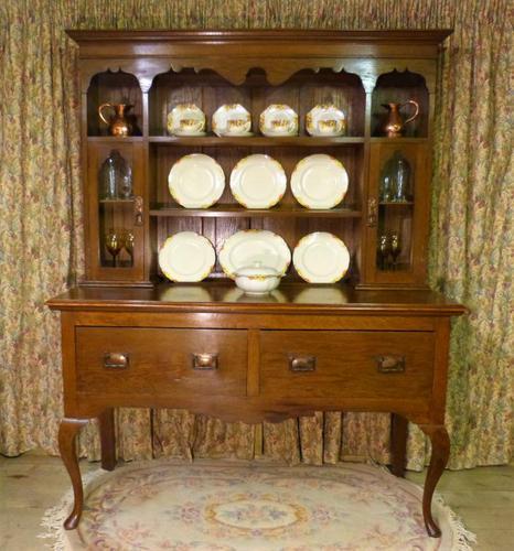 5ft Oak Welsh Dresser (1 of 10)