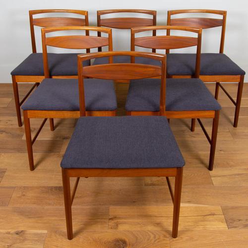 Set of 6 Mid Century Teak McIntosh Dining Chairs (1 of 12)