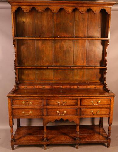 Good Georgian Oak Dresser (1 of 12)
