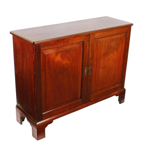 Georgian Mahogany Side Cabinet (1 of 8)