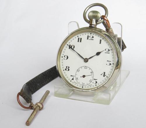1930s Swiss Pocket Watch & Albert (1 of 3)