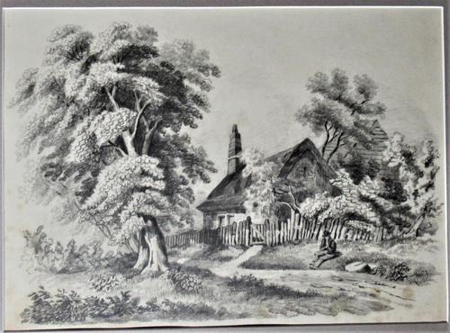 John Berney Ladbrooke Attributed Norwich School c.1860, Fine Large Sketch (1 of 6)