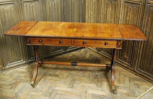 Antique Regency Sofa Table (1 of 8)
