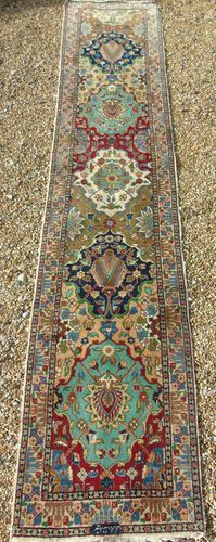 Antique Bakhtiari Carpet Runner (1 of 8)