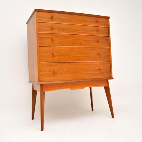 Vintage Walnut Chest of Drawers by Alfred Cox (1 of 9)