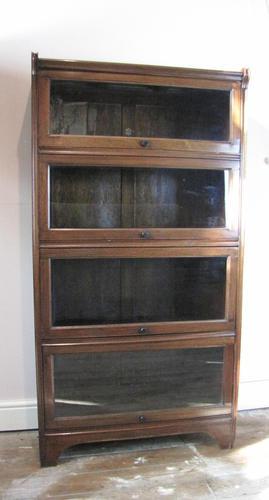 Antique  Mahogany Glazed Solicitors Bookcase (1 of 9)