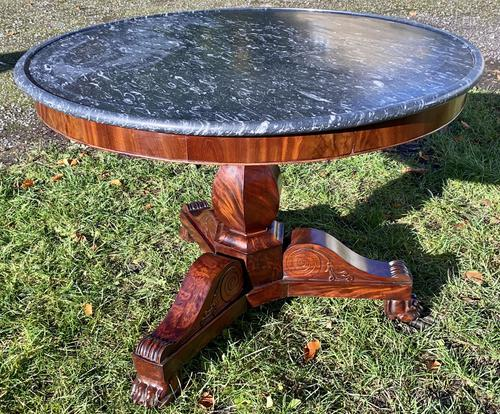 Flame mahogany Gueridon or centre table (1 of 7)