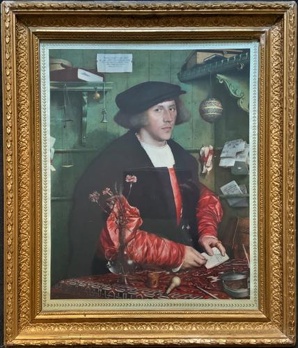 Very Fine Quality Large Old Master Portrait 'medici Society' Print - Circa 1910 (1 of 12)