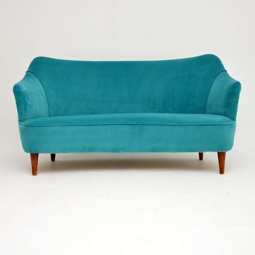 1960's Italian Vintage Cocktail Sofa / Love Seat (1 of 7)