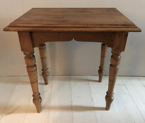 Small Turned Leg Side Table (1 of 5)