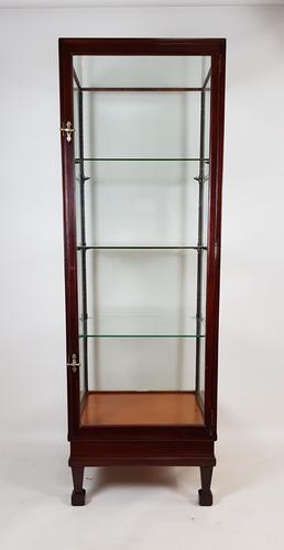 Antique Mahogany Shop Display Cabinet (1 of 7)