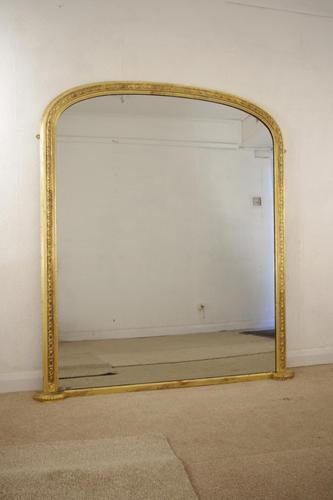 Gilt Arch Top Overmantle (1 of 9)