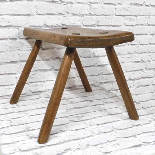 Elm-seated Country Stool (1 of 6)