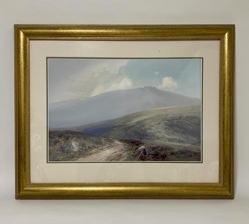 Original Dartmoor Watercolour by Frederick John Widgery (1 of 15)