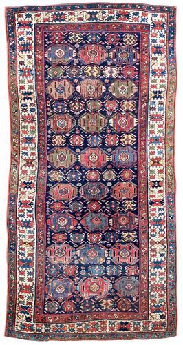 Antique Kurdish Kelleh 3.45m x 1.58m (1 of 12)