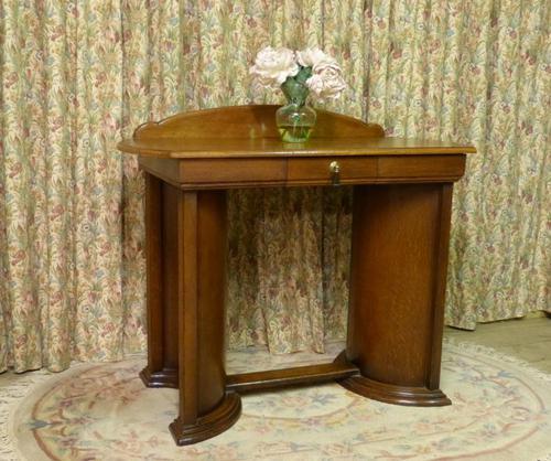 Art Deco Side Table / Desk (1 of 8)