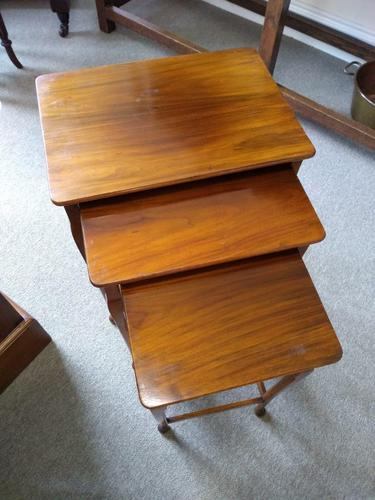 Pine Nest of 3 Tables (1 of 2)