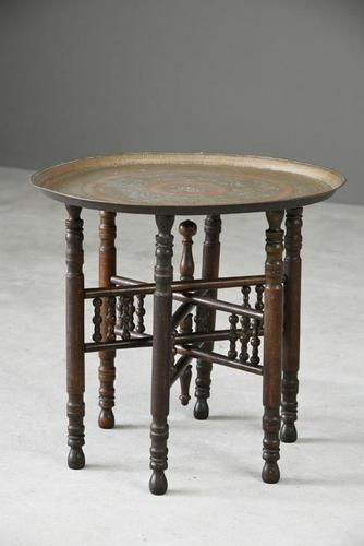 Eastern Copper Tray Table (1 of 1)
