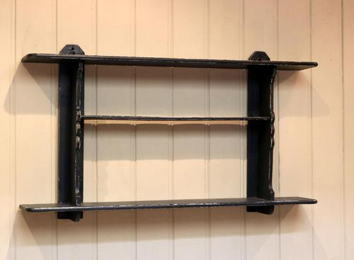Rustic French Painted Wall Shelves (1 of 5)