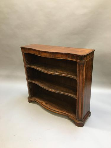 Early Victorian Rosewood Bookcase (1 of 11)