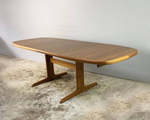 1970's Danish Long Walnut Dining Table by Skovby (1 of 7)