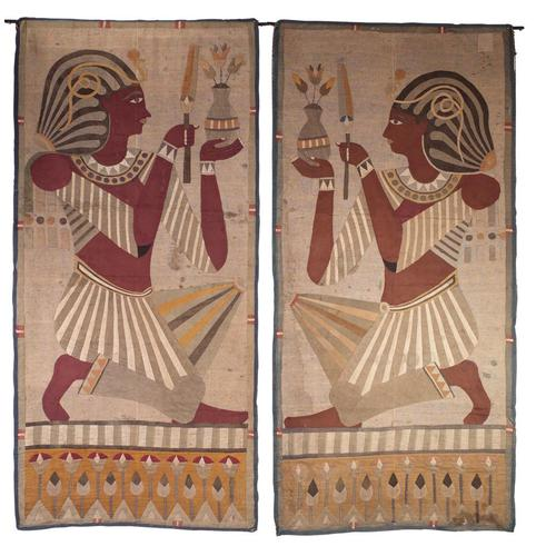 Egyptian Revival Panels (1 of 9)