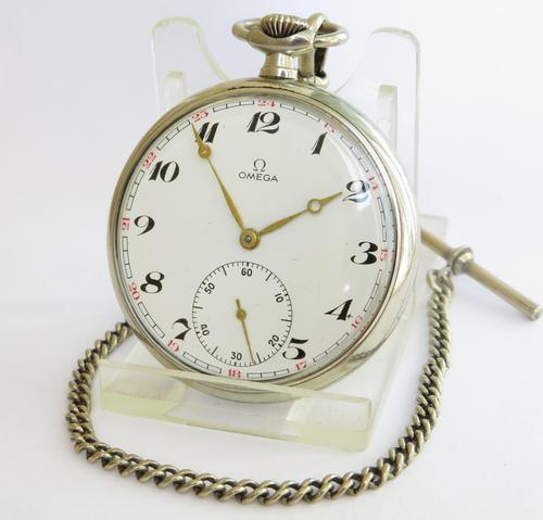 Omega Pocket Watch, 1964 (1 of 3)