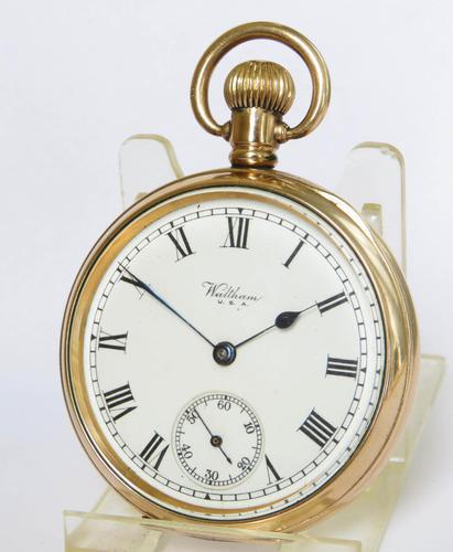 Antique 1917 Waltham Traveler Pocket Watch (1 of 5)