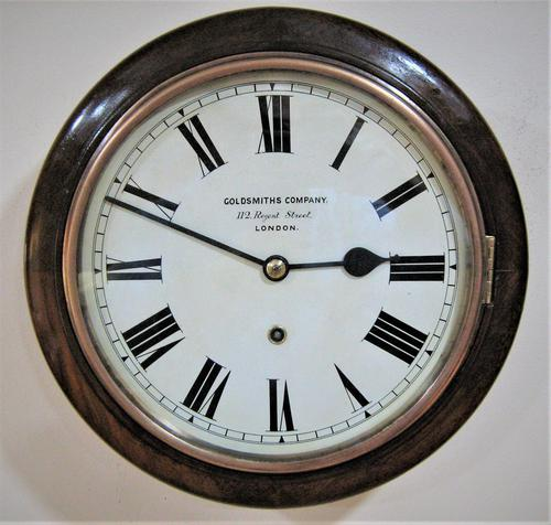 "Fabulous 1920 German 10"" Dial Timepiece by W&H (1 of 8)"