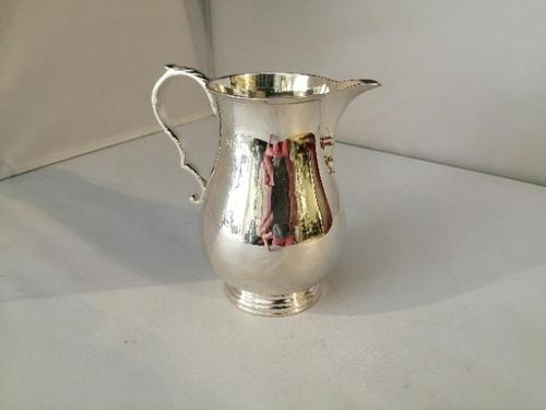 Lovely Quality Silver Sparrow Beak Jug (1 of 7)