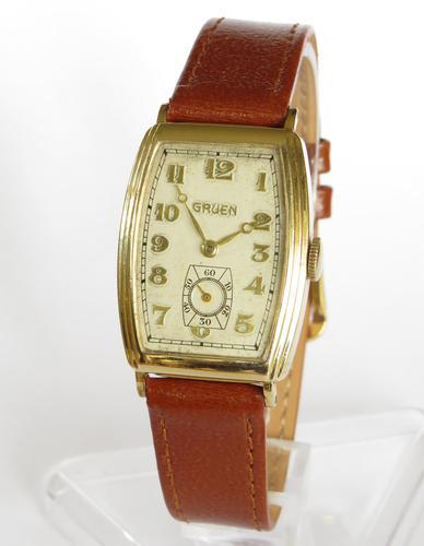 Gents 1930s Gruen Wrist Watch (1 of 5)