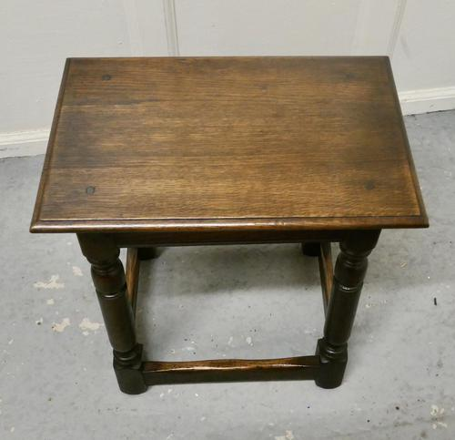 19th Century Oak Joint Stool (1 of 5)