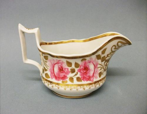 New Hall Old English Shape Cream Jug c.1825 (1 of 5)