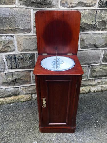 Antique Mahogany Bedside Cabinet (1 of 10)