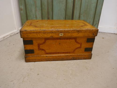 Victorian Pine Blanket Chest (1 of 5)