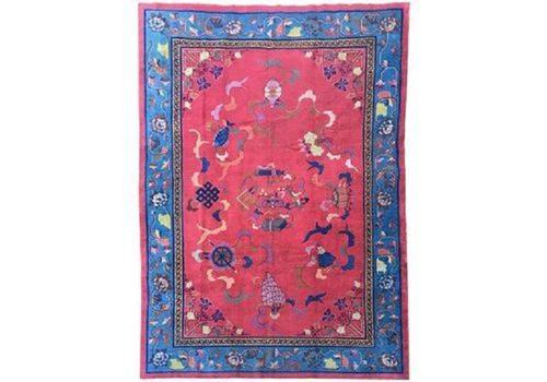Antique Chinese Art Deco Carpet (1 of 9)