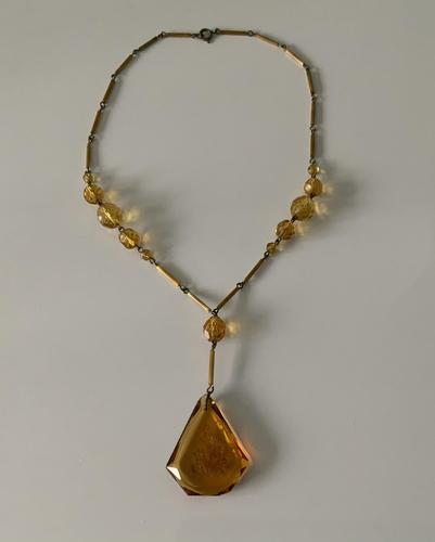 Czech Glass Necklace (1 of 4)