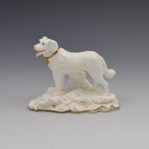 Rare Minton Porcelain Model of Newfoundland Dog c.1830-1840 (1 of 9)