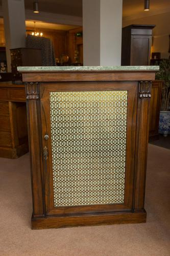 Early 19th Century Rosewood Cupboard / Bookcase (1 of 5)