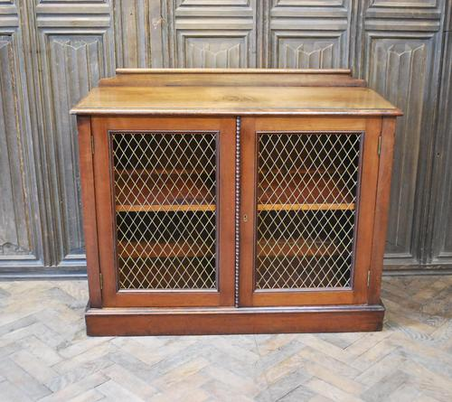 Antique Mahogany Side Cabinet (1 of 9)