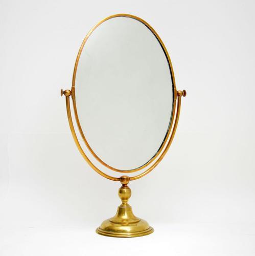 1960's Vintage Brass Vanity Mirror by Peerage (1 of 7)