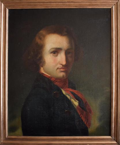 Portrait of Andre Chénier Early Romantic Poet Oil Painting (1 of 7)
