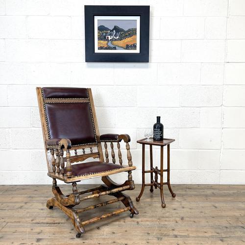 Antique Gentleman's Rocking Chair (1 of 9)